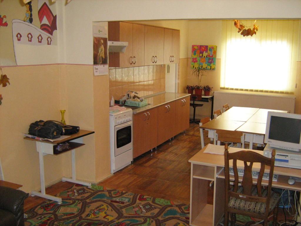 sala de clasa cu bucătărie corp B